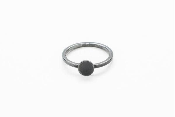 Bőr nélküli pötty gyűrű design ékszer